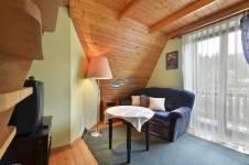 pok. 7, 2-poziomowy z łazienką, balkonem z widokiem na Giewont, TV, WiFi